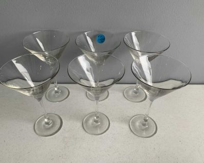 Anyone interested in FREE martini & wine glasses? Pickup Sycamore today