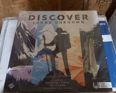New sealed Discover lands unknown game