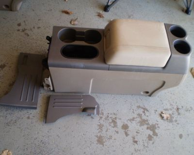 RARE Ford F150 F-150 Tan Center Console 2004 2005 2006 2007 2008 04 08 CONSOLE WILL SHIP