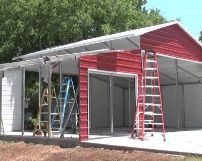 Metal Carports, Garages, Barns for Sale In North Carolina