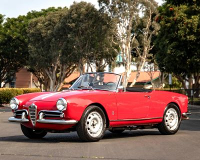 1960 Alfa Romeo Giulietta Spider