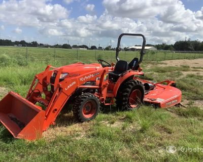 2021 (unverified) Kubota L3901D 4WD Tractor