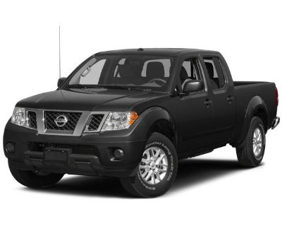 Pre-Owned 2015 Nissan Frontier SV RWD Crew Cab Pickup