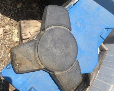 porsche steering wheel/horn pads