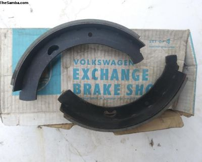 front brake shoes. 55 - 63