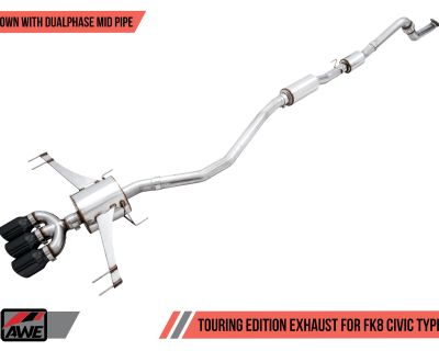 Presenting the AWE Exhaust Suite for the FK8 Civic Type R. Available now!