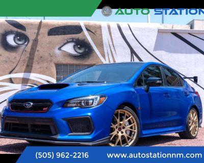 2018 Subaru WRX STI TYPE RA MANUAL