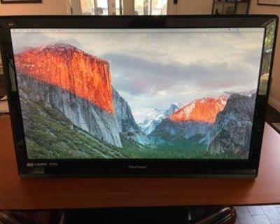 "24"" Full HD widescreen LED monitor"