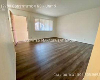 12700 Constitution Ave Ne #9, Albuquerque, NM 87112 1 Bedroom Apartment