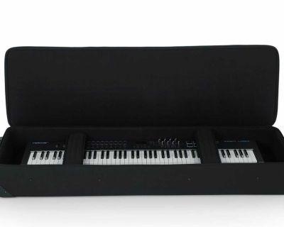 Gator 88 Note Keyboard Case NEW Lightweight Case w/ Wheels