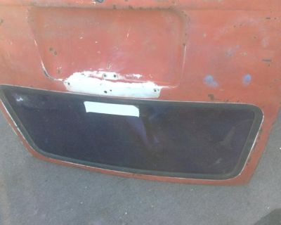Door-Rear Hatch Squareback w/OEM Glass and Seal
