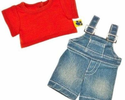 ISO build a bear smallfry overalls