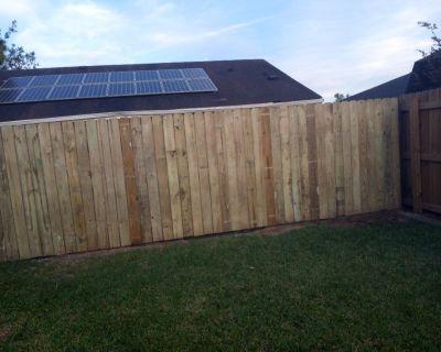 Jobs fence board, Drywall, demolition