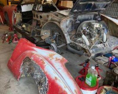 64 Ghia conv needs total rebuild / parts car