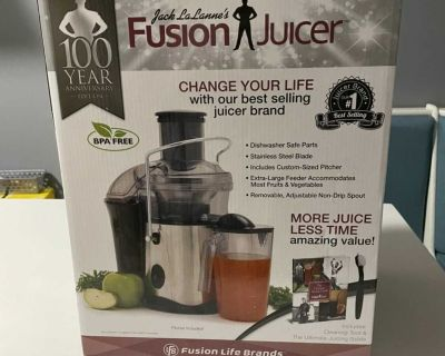 NEW 100th anniversary Fusion Juicer