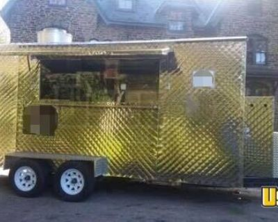Permitted Mobile Kitchen / Ready to Use Food Concession Trailer