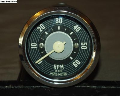 Repro 12Volt Motometer Rallye Pack Tachometer Tach