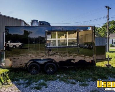 Made to Order 2021 7' x 16' New Kitchen Food Concession Trailer