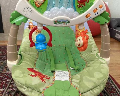 *Free* Vibrating Baby Bouncer Chair