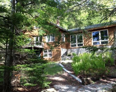 Classic Log Home on Pristine Maine Pond Kayaking Heaven, Loons, Bald Eagles - Bucksport