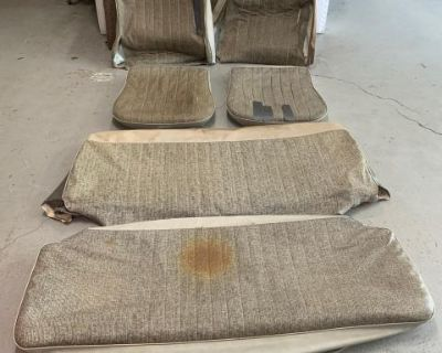 Used Genuine VW Seat covers w/pads