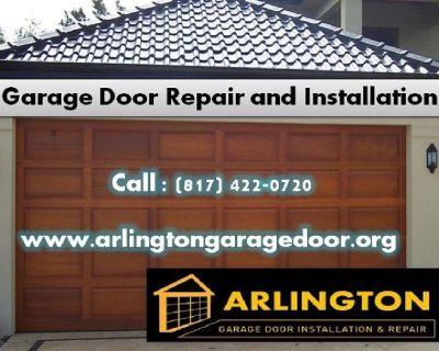 Best Garage Door Repair and Installation $25.95 Arlington, Dallas TX