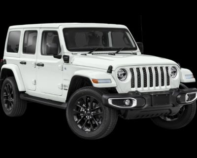 New 2021 Jeep Wrangler 4xe Unlimited Sahara 4WD Convertible
