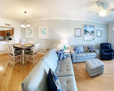 Seaside at Anastasia E202-LUXURY, remodeled unit at the Beach with Pool, Elevator, Gym + More! - St. Augustine Beach