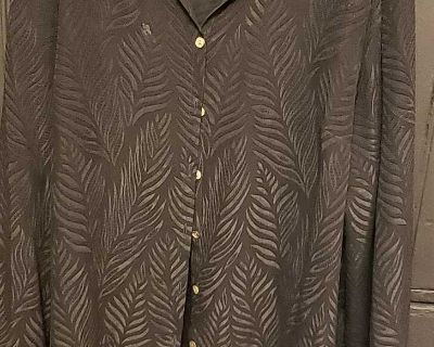 J.H. Collection Sheer Blouse