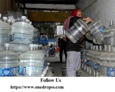 drinking water can And 20 litre water bottle