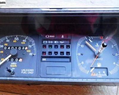 Rabbit Clock and Speedometer Cluster