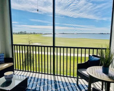 223-breath Taking vew From Brand New Golf Bundled 2nd Floor Condo - Charlotte County
