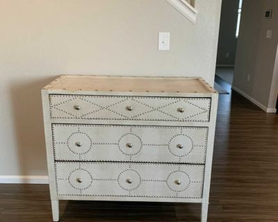 Fabric Accent chest or dresser