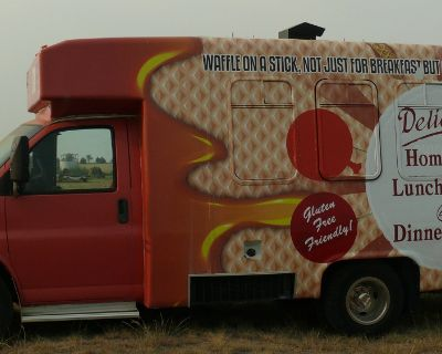 Chevy Food Truck with Built-In Honda Generator in Mitchell, NE
