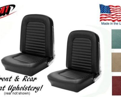 1966 Ford Mustang Any Color Front And Rear Seat Upholstery Made In Usa By Tmi