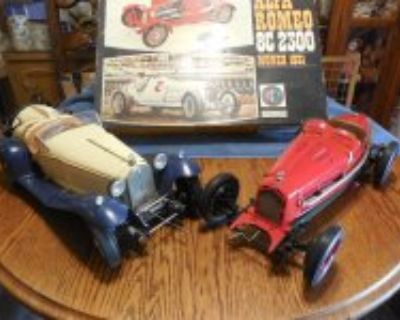 Alpha Romeo Pocher 1931 roadsters 2 all steel bodies, rubber tires