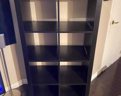 IKEA Kallax BookCase. 8 sections. Can be used as TV Stand $50. Negotiable