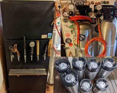 Fully outfitted Kegerator--Monterey Bay Area