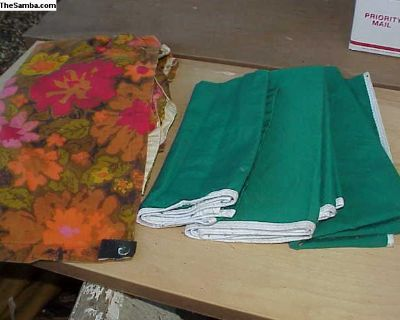 Original Westfalia curtains from several campers
