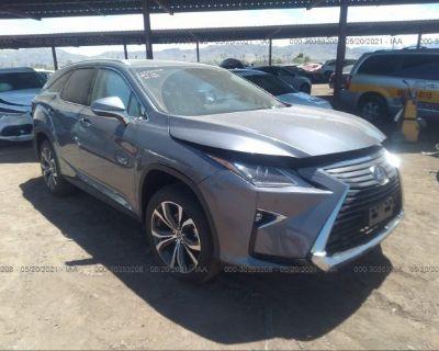 Salvage Gray 2019 Lexus Rx