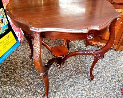 Vintage parlor table