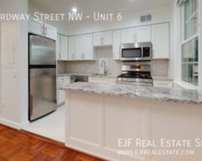 2734 Ordway St Nw #6, Washington, DC 20008 1 Bedroom Apartment