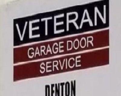 Veteran Garage Door Repair Denton