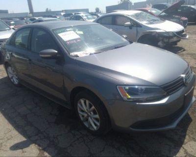Salvage Gray 2011 Volkswagen Jetta Sedan