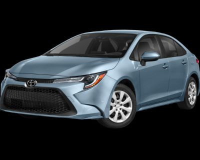 New 2022 Toyota Corolla LE 4 door Front Wheel Drive