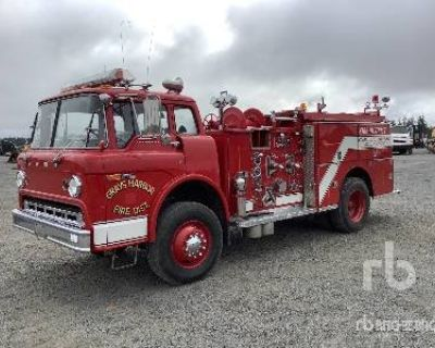 1975 FORD 4X2 COE Emergency Vehicles Truck