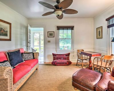 NEW! Restored 1920's Cottage on 1 Acre w/ Fire Pit - Hayes