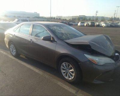 Salvage Gray 2015 Toyota Camry