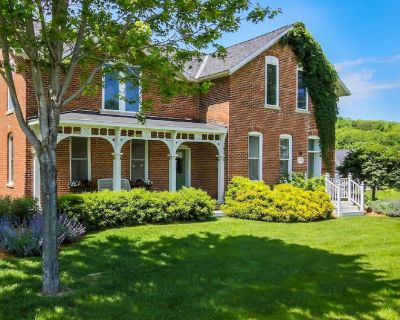 Charming Brick Farmhouse with a Touch of Elegance. -Winona - Winona