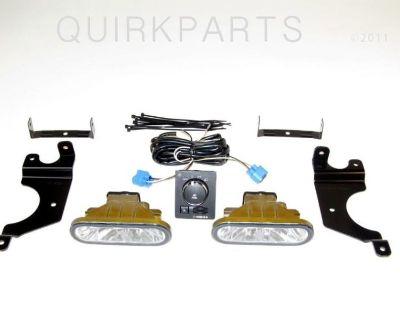 2009-2012 Dodge Ram Fog Lamp Lights Kit Package Mopar Oem Brand New